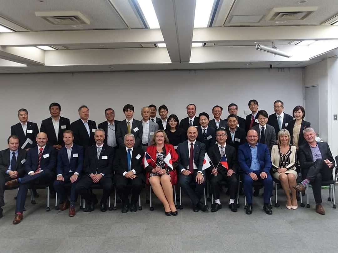 Podnikatelská mise do Japonska